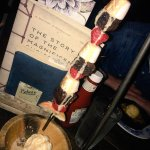 Cocktails & Rocky Road Kebabs. Can't complain!