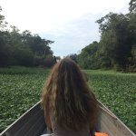 Paseo en canoa a través de río yanayacu