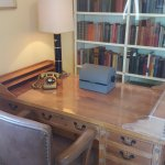 imagine the decisions made at this desk by DDE
