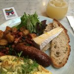 Amazing French style cooked breakfast