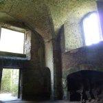 Interior ruins