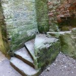A ruined staircase