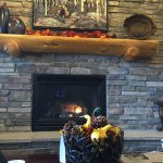For me, it is necessary to have a fire place when in the mountains.   The lobby has a great one!