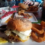Cheeseburger In Paradise Foto