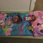 Our daughter's bed was made very sweetly upon returning to the hotel. Thank you, Concepcion Estr