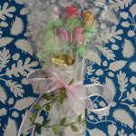 Chocolate Fx's beautiful bouquet of chocolate roses foiled in an assortment of colours.