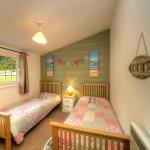 twin room in Rowan Tree Lodge
