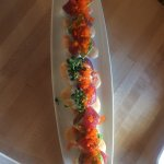 Sushi roll appetizer