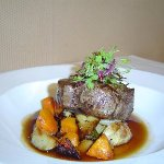 Beef fillet from Wisteria Restaurant