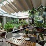 comedor y jardin