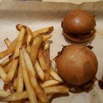 Pork Slider - cold and tough, stale buns