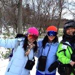 スノートレッキング Snow trekking