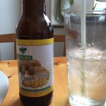 Great bottled ginger brew made in Maine with local honey.