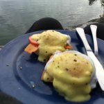 Never had Eggs Benedict when I was camping before