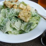 Caesar Salad. Crisp and chilled