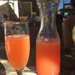 Cranberry/Orange Mimosa