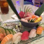 Great little sushi / Japanese hibachi  restaurant. We had the habachi chicken and then sushi and