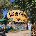 Quirky well known restaurant on the high road to Taos. Best know for their carrot cake and other