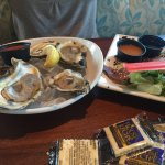 Excellent dinner, excellent wait staff.  Enjoyed the Hawaiian shrimp bowl and oysters. Will be g
