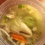The broth was soothing!
