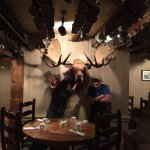 Yep, they have a moose in the tavern too :-)