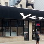 Front & entrance to Yes Thai