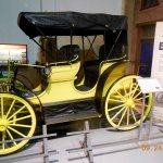 1890 Horseless Carriage.