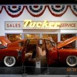 1948 rear engine Tucker automobile.
