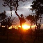 Sunrise at the Lake Manyara Serena Lodge
