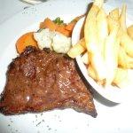 My husband's rump steak