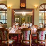 Dining room at Eccles Hotel