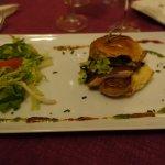 Le burger brioché au foie gras
