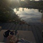 On the terrace - Hardknott Spa Lodge