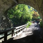 Corbett's Glen Nature Park - looking back out tunnel