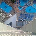 Vista de la piscina desde nuestra habitación