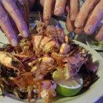 Grilled prawn aftermath!!!