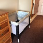 Cot bed which was in our room (we didn't ask for one or need one)
