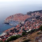 The best view of old town Dubrovnik was taken whilst on the Dubrovnik City Tour.