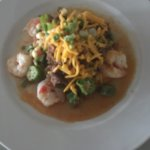 Yummy shrimp and grits
