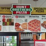 Pizza and wing menu