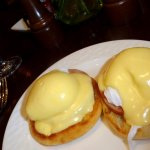 Excellent preparation of eggs benedict, included with the buffet but you do need to order