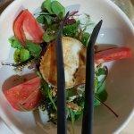 Ensalada de queso de cabra y frutos secos