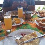 Breakfast at Le Tandoor
