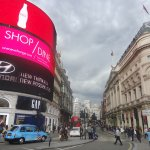 Shaftesbury Avenue from Piccadilly Circus