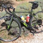 Le vélo de course de Patrick pour vous emmener....