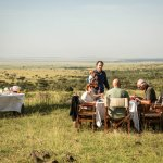 Bush breakfasts with your own chef and waiter