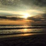 Atardecer nublado en Playa Olas Altas