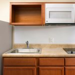 In-Room Kitchens Help You Save Time and Money. Comes As Displayed.
