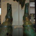 Zoccoli da statua equestre in bronzo