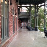 Taken on the front veranda of old Plant Hall on the campus of University of Tampa.